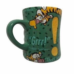 Walt Disney Parks 3D Tigger Coffee Mug